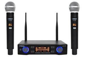 Радиосистема Lomeho LO-U02 радио микрофон беспроводной радиомикрофон