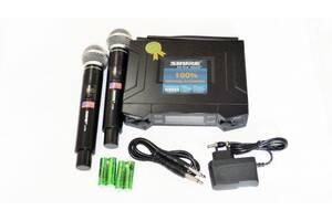 Радиосистема Shure UHF UK90 2 беспроводных микрофона (gr_007476)