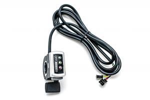 Ручка газа правая GP 106DX, c индикацией заряда, 36В