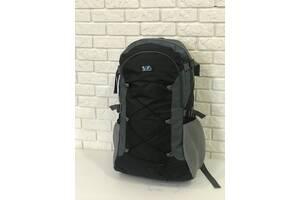 Рюкзак туристический Kronos Top VA T-09-2 55л Черный с серым (gr_009234)