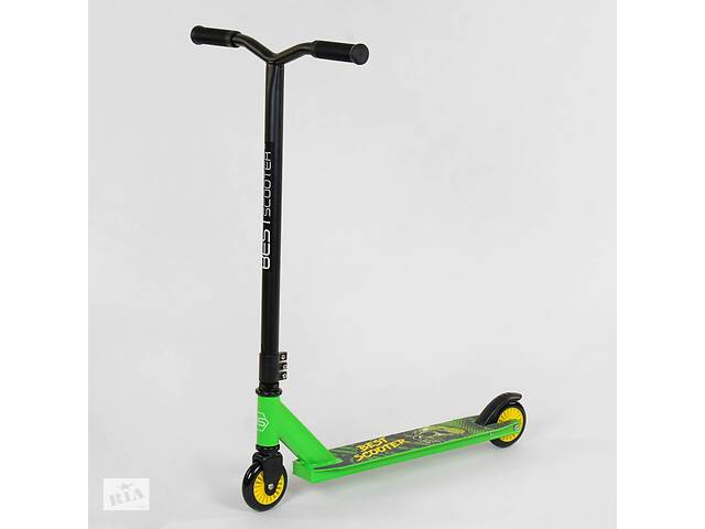 Самокат трюковый Best Scooter 74918 Зеленый