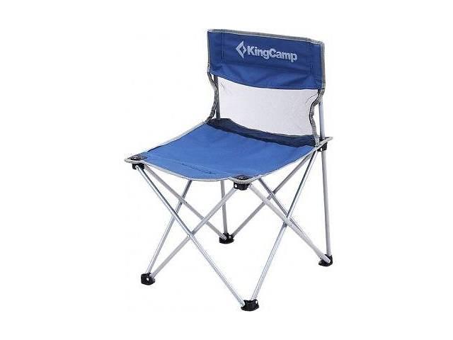 продам Шезлонг KingCamp Compact Chair in Steel M, синий бу в Киеве