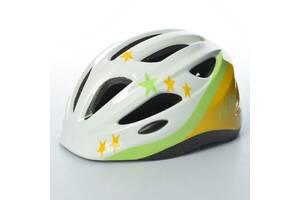 Шлем детский Bambi AS180066-8 13 вентиляционных отверстий Белый (int_AS180066-8)
