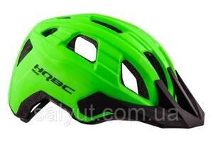 Шлем HQBC Peqas, Зелёный неон глянцевый (L)