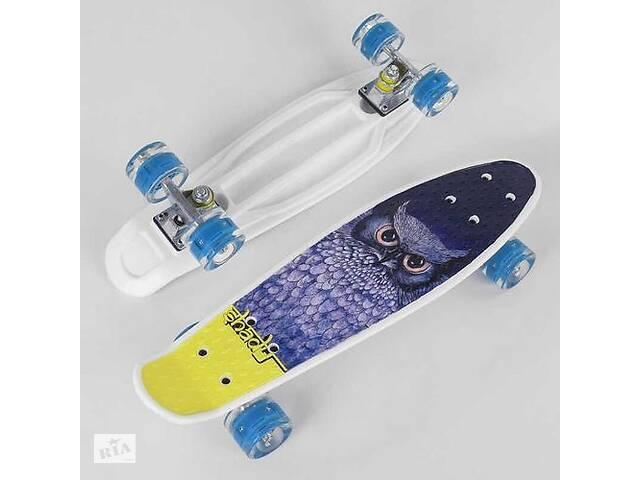 Скейт для детей Пенни борд S 29855 Best Board с антискользящей поверхностью и полиуретановыми колесами- объявление о продаже  в Львове
