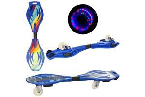 Скейтборд Рипстик Profi MS 0016-1 синий