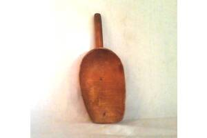 Совок для сипучих продуктів дерев'яний