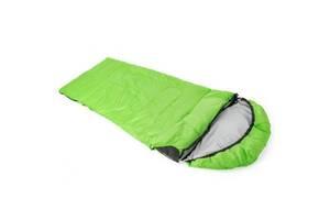 Спальный мешок КЕМПІНГ Peak 200L с капюшоном Green (4823082714995)