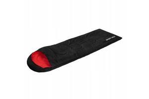 Спальный мешок SportVida SV-CC0020 Left Black-Red - 227626