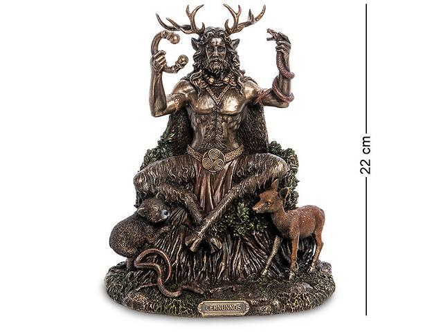 купить бу Статуэтка Veronese Кернунн - Лесной бог  22 см 1906340 в Львове
