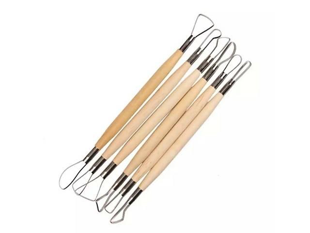 Стеки петлі, інструмент для роботи з глиною, пластичними масами, стеки для ліплення, набір стеків- объявление о продаже  в Сумах