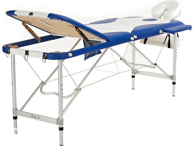 продам Стол, 3-секционный, двухцветный, алюминиевое массажная кровать бу в Львове