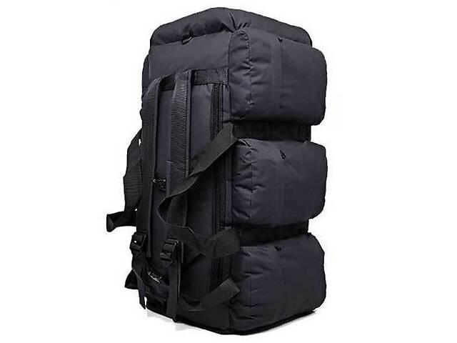 купить бу Сумка-рюкзак тактична xs-90l3 Kronos чорна, 90 л в Києві