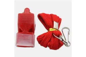 Свисток World Sport Fox 40 пластик на шию червоний SKL83-281637