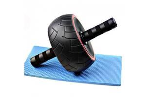 Тренажер колесо для мышц пресса Profi широкое (MS 2210)