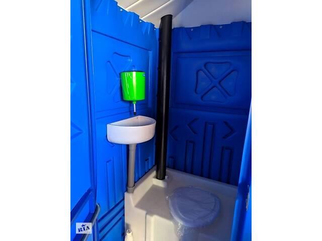 купить бу Туалетная кабина + раковина и умывальник по акции от четырех едениц в Киеве