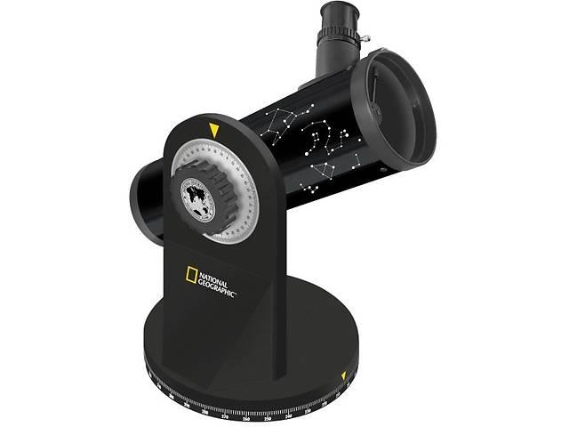 купить бу Удобный компактный телескоп 76/350 Dobson. National Geographic 914839 в Киеве