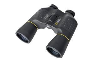 Универсальный бинокль для туризма 10x50 черный  National Geographic 920045.