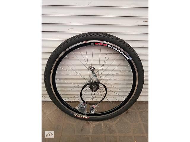 бу Вело колеса 20. 24. 26. 28 дюймів подвійний обід на планетарної втулки 3 швидкостей в Харкові