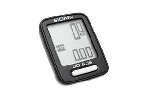 Велокомп'ютер Sigma Sport BC 5.16 Black (SD05160)