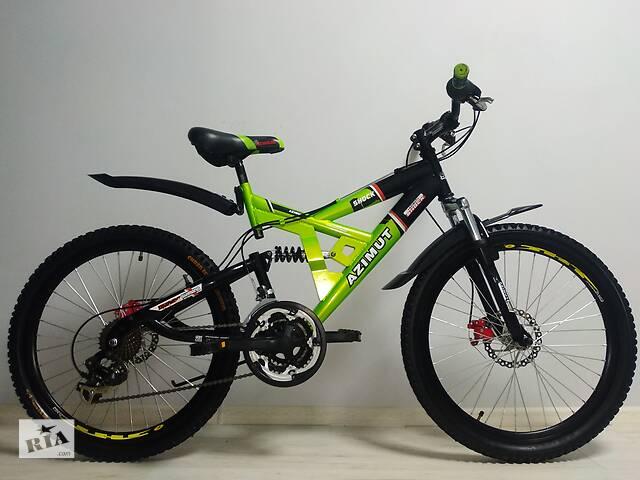 """продам Велосипед Azimut 24"""" бу в Северодонецке"""