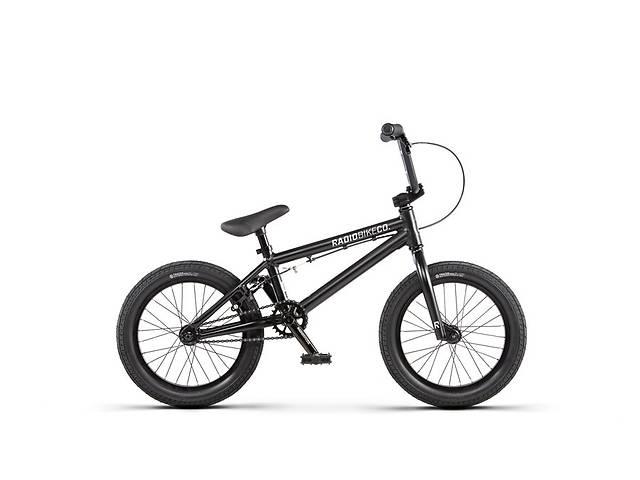 Велосипед ВМХ Radio DICE 16 Matt Black 2020- объявление о продаже  в Львові