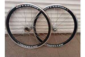 Велосипедні колеса 20,24,26,28 дюймів на подвійному ободі комплект