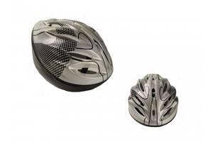 Защитный шлем детский с вентиляционными отверстиями Profi, серый. Спортивные подарки для детей