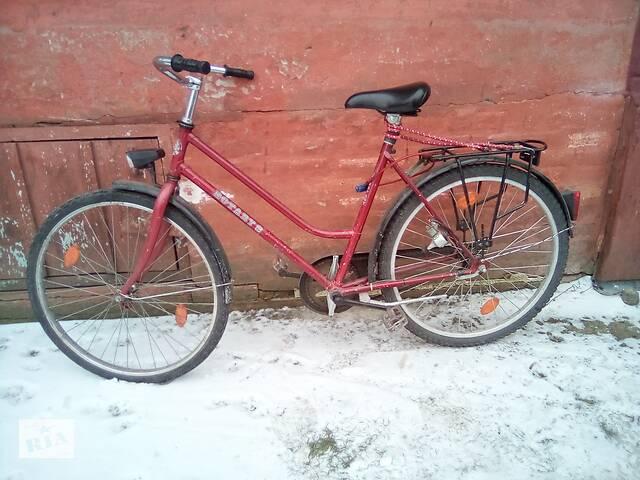 продам Женский велосипед (красный) бу в Золотоноше
