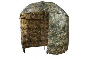 Зонт палатка для рыбалки окно d2.2м HLV SF23817 Дубок Хаки