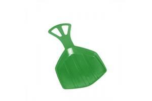 Зимние санки-лопата Pedro Plastkon зеленые SKL24-238233