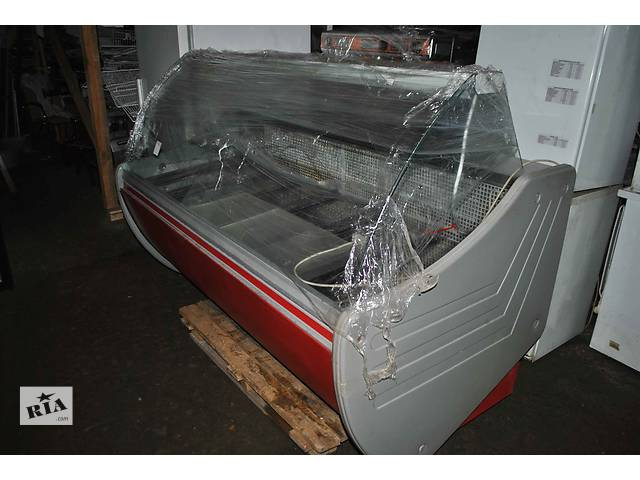 Холодильная витрина бу напольная гастрономическая от производителя ТехноХолод предназначена для хранения и демонстрации - объявление о продаже  в Киеве