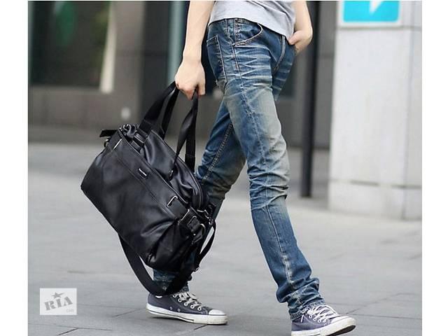 продам хорожная мужская сумка, стильный дизайхн см. Варианты бу в Киеве