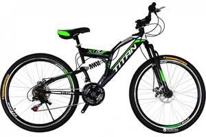Новые Велосипеды-двухподвесы Titan