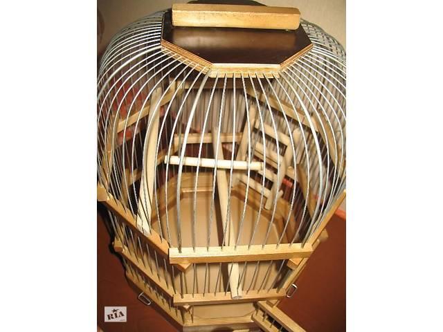 Клетка для волнистых попугаев восьмигранная.- объявление о продаже  в Киеве