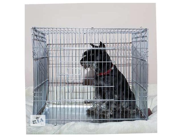 продам Клетка для собак или кошек напрокат 63х50хh53 см (доставляем) бу в Киеве