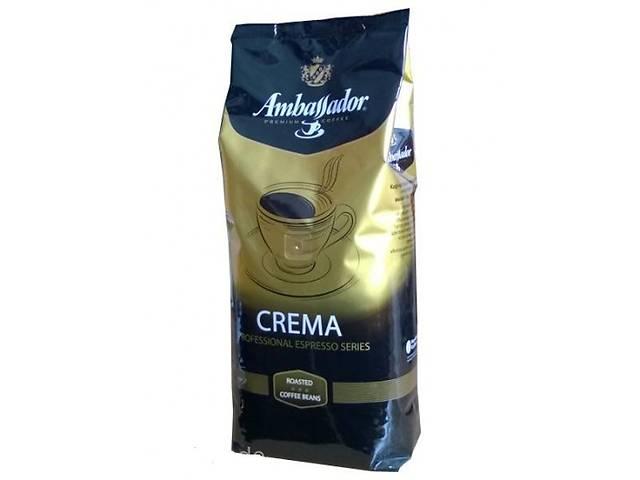 купить бу Кофе в зернах Ambassador Crema 1кг в Запорожье