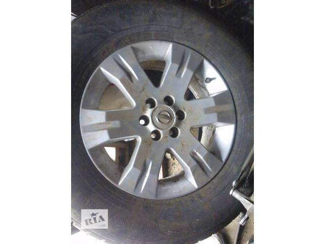Колеса и шины Диск Диск литой 17 Легковой Nissan Navara Пикап 2007- объявление о продаже  в Киеве