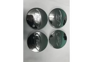Колпачки под оригинальные диски 50мм V2 (4 шт) Ford Mondeo 2000-2008 гг. / Колпачки на диски Форд Мондео