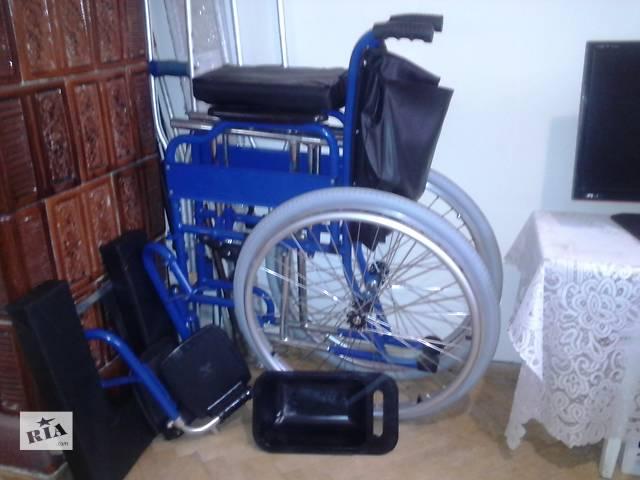 купить бу Коляска инвалидная с санитарным устройством. Место нахождения -Львов в Львове