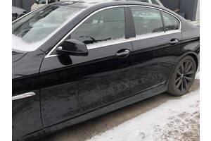 Комплект молдингов хромированные BMW 5 F10 молдінг БМВ 5 Ф10 молдинг накладки