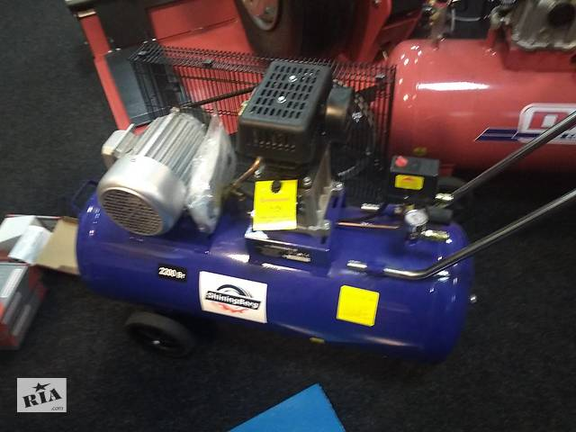 Компрессор поршневой воздушный с ресивером 100 литров (353 л/мин)