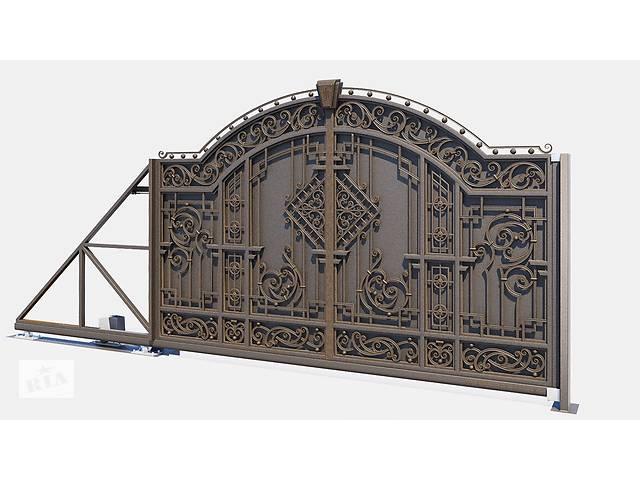 купить бу Ковані ворота на замовлення  в Украине