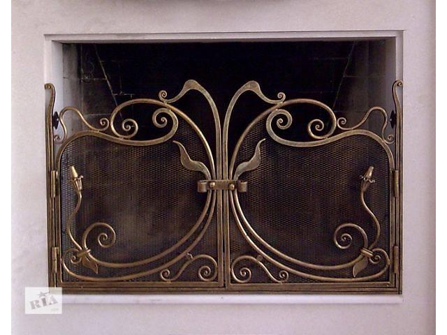 купить бу Кованая решетка камина, набор принадлежностей для камина! в Ладыжине