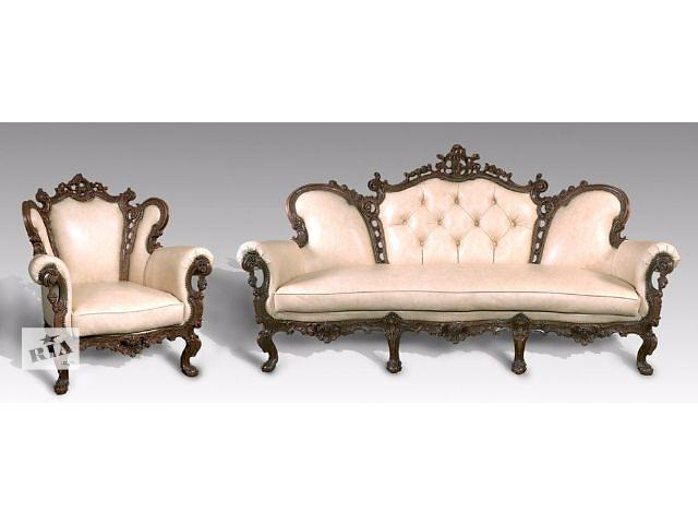 продам Кожанная мебель 3-1-1 Изабелла (3-х местный диван+2 кресла) бу в Киеве