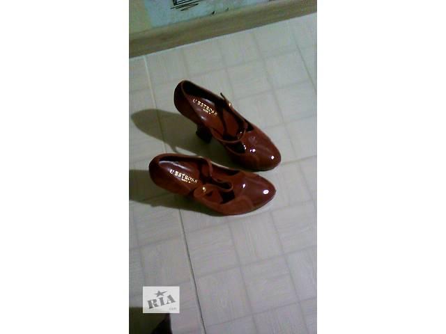 Кожанные итальянский туфли L Estrosa- объявление о продаже  в Нежине