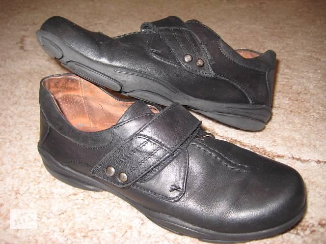 продам Кожаные туфли для мальчика, 32 размер, 21 см по стельке бу в Киеве