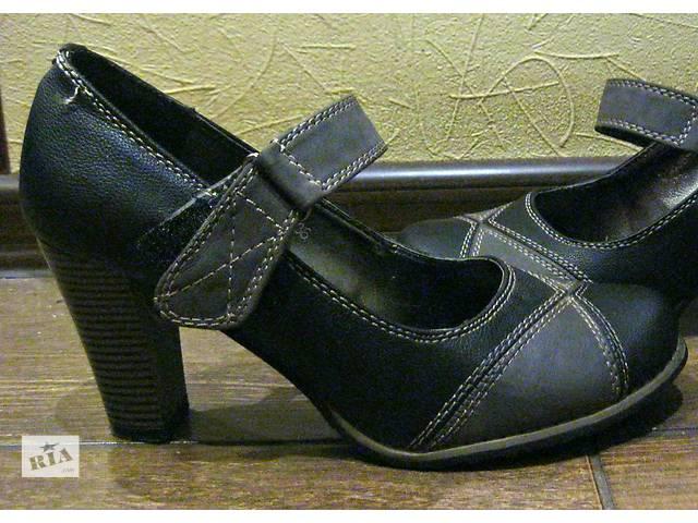 купить бу Кожаные туфли! в Киеве