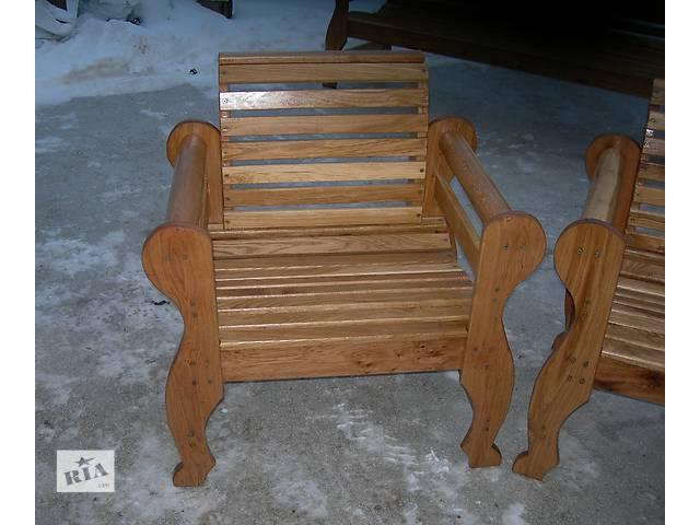 бу Кресло из массива дуба в Виннице