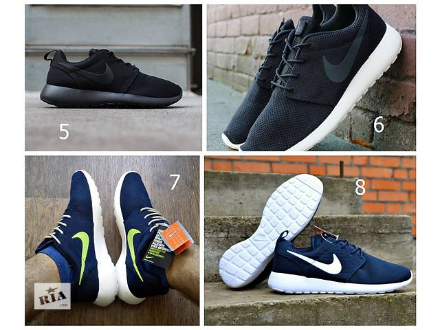 купить бу Кроссовки Nike Roshe Run 40-45 Вьетнам ТОП 9- цв ОПЛ. ПРИ ПОЛУЧ Дроп. в Мелитополе